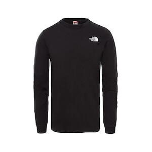 M LS SIMPLE DOME TEE TNF BLACK