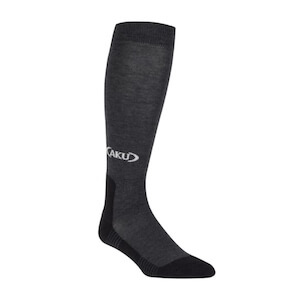 TREKKING HIGH SOCKS ANTHRACITE/BLACK