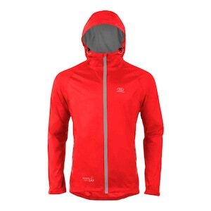 STOW & GO RED PACKAWAY JACKET