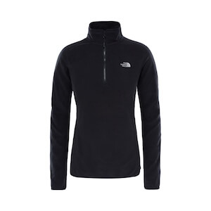 W 100 GLACIER 1/4 ZI TNF BLACK