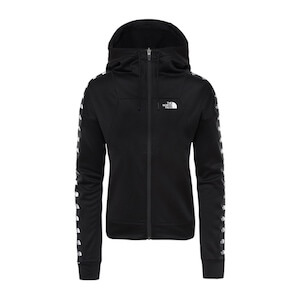 W TNL CROP FZ HD TNF BLACK