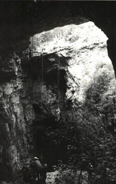 Grotta fondo franco scoperta
