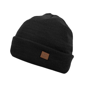 THINSULATE SKI HAT - BLACK
