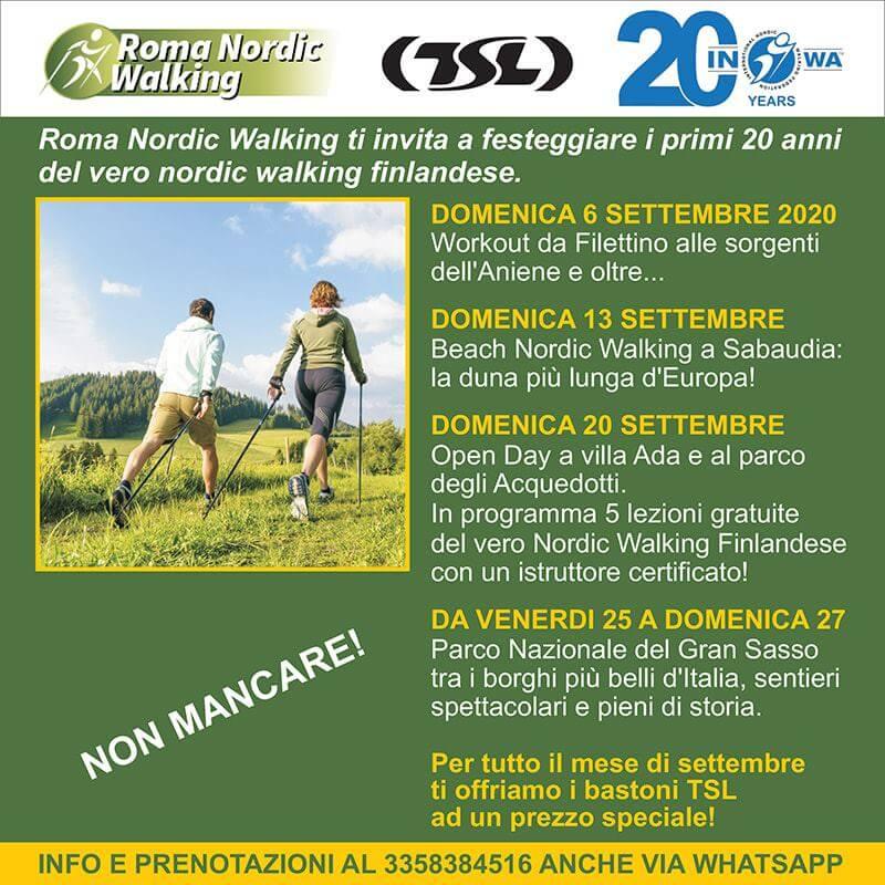 Programma Roma Nordic Walking