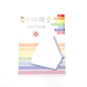 Mascherina Rainbow Care